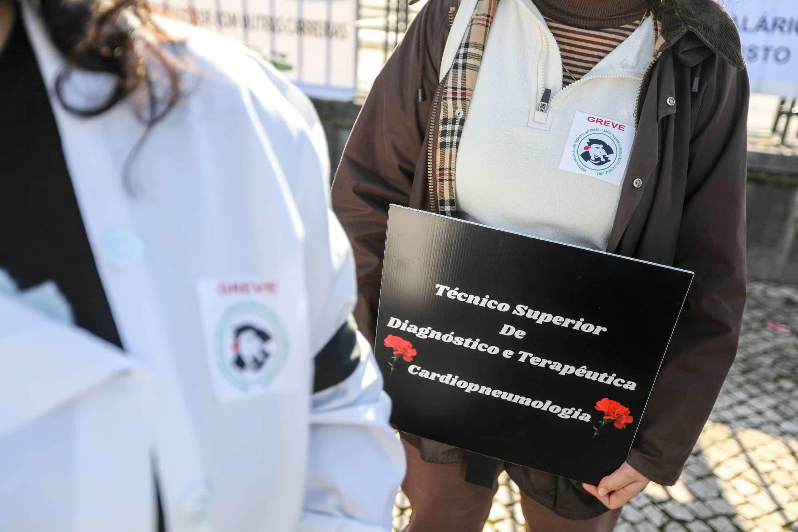 Técnicos de diagnóstico em greve contra fim de negociações
