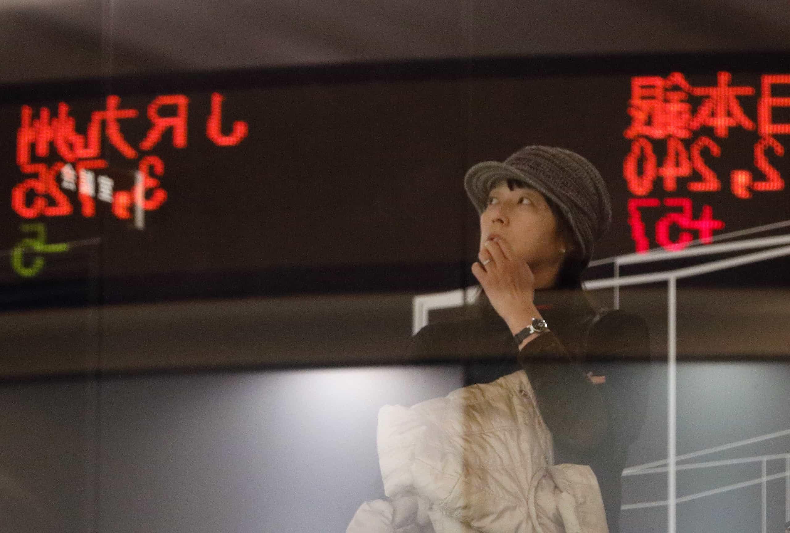 Bolsa de Tóquio ganha 1,37% no fecho