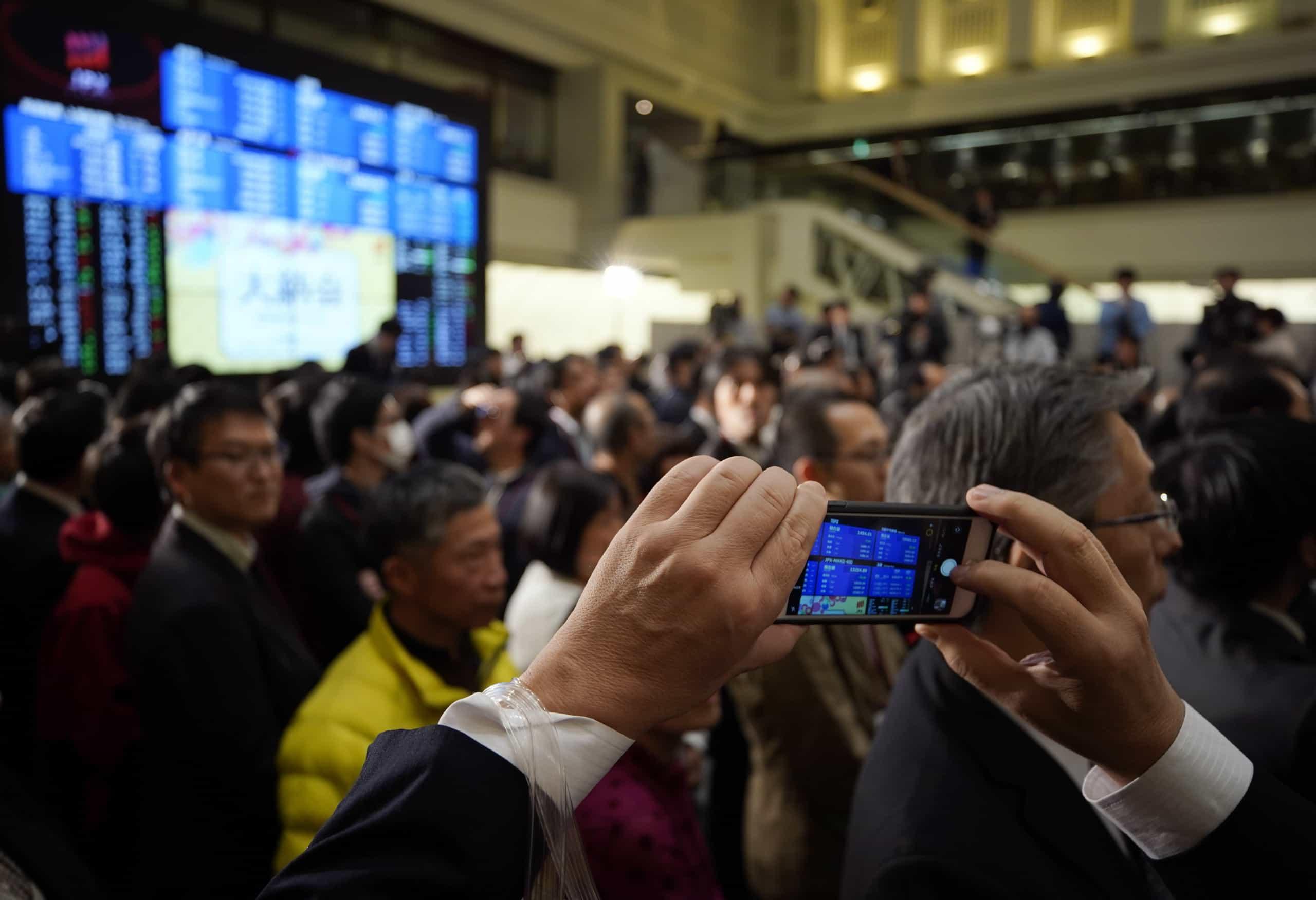 Bolsa de Tóquio ganha 0,19% no fecho