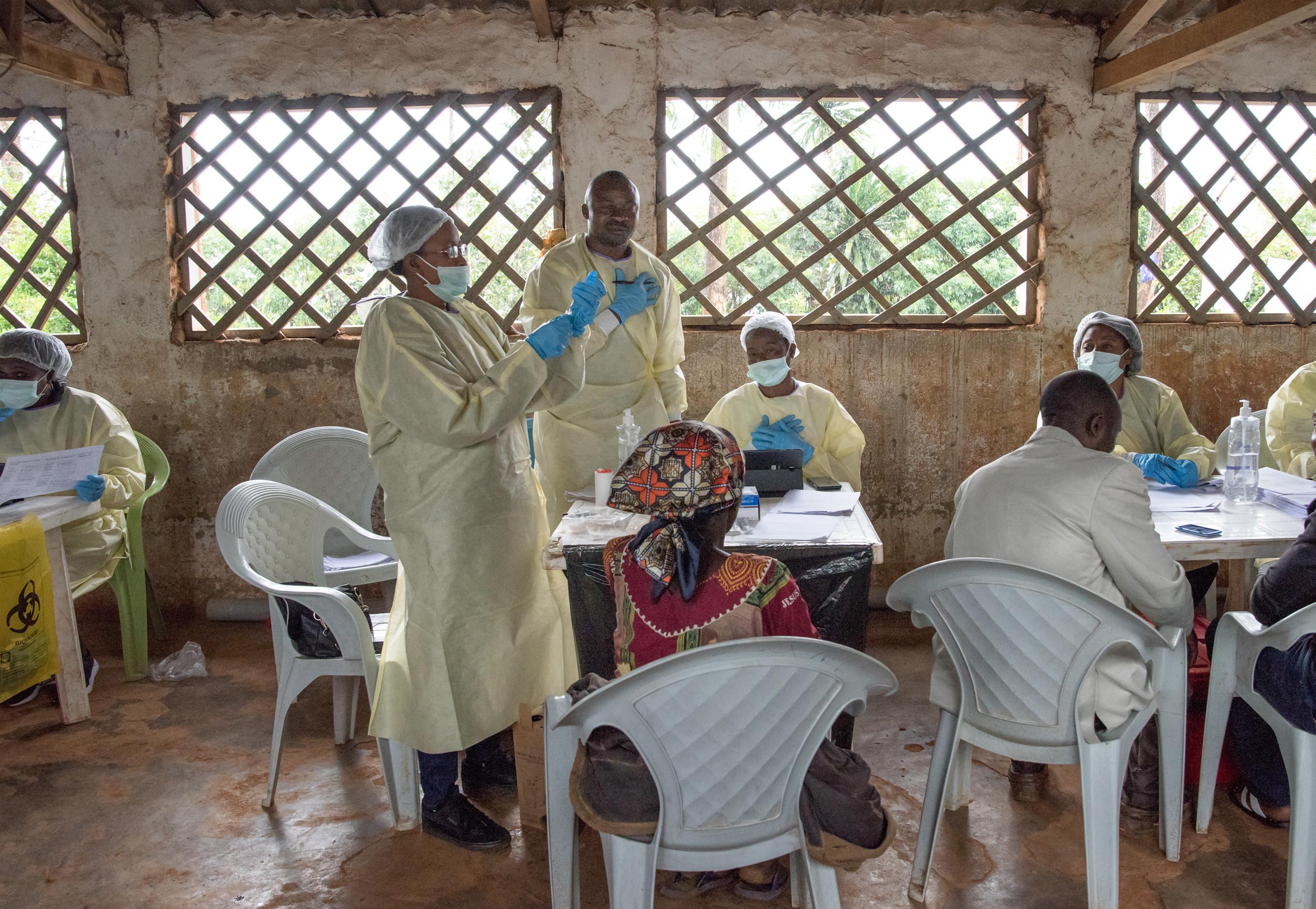 Epidemia de Ébola na RD Congo ultrapassou os mil casos