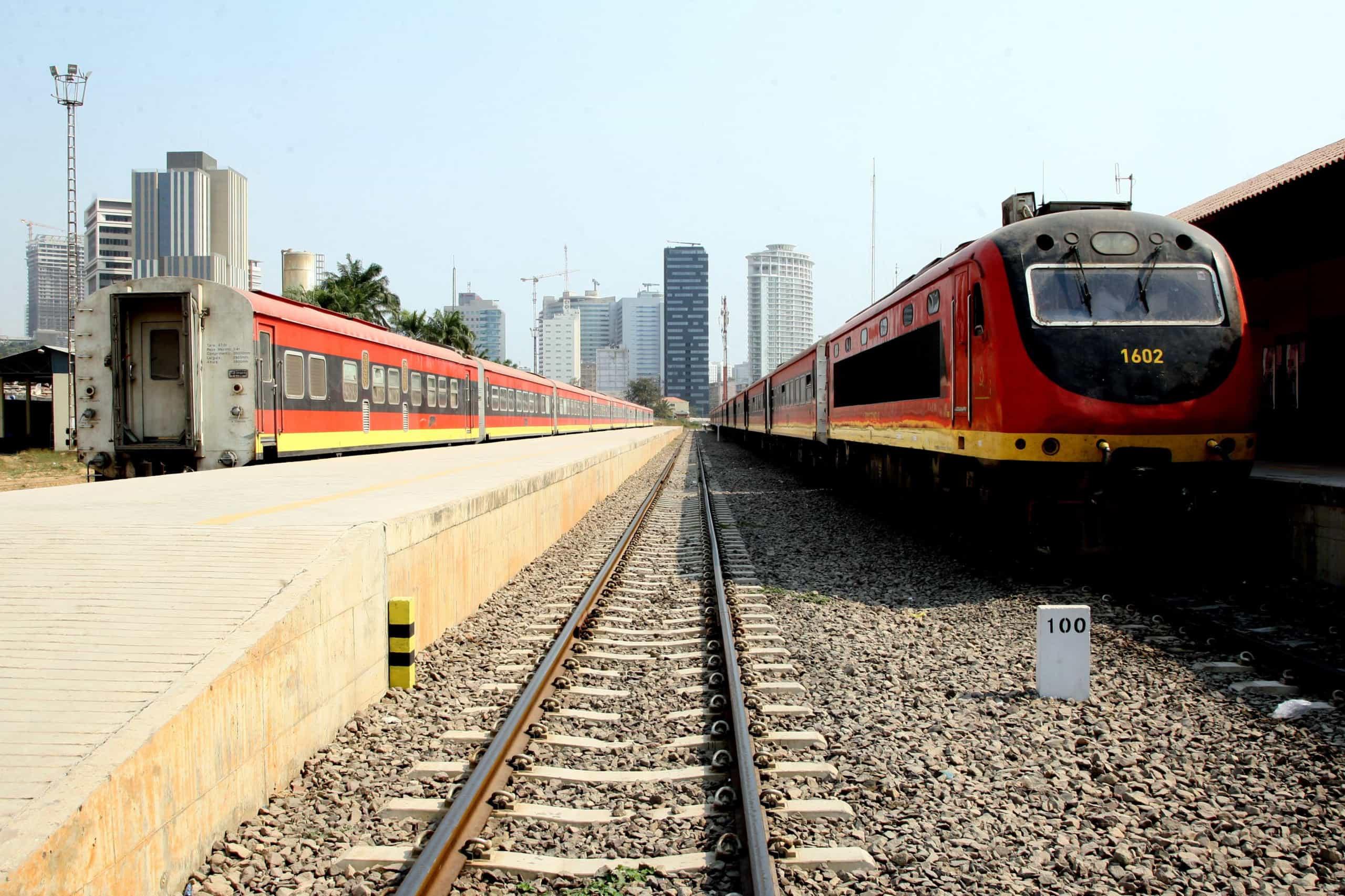 Cerca de 70% dos trabalhadores dos Caminhos-de-Ferro de Luanda em greve