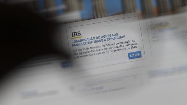 IRS automático avança em separado para casais que não validem declaração