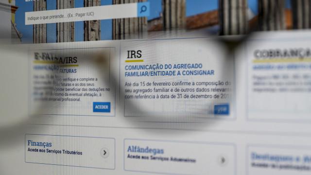 Contribuintes podem começar a entregar o IRS a partir de hoje