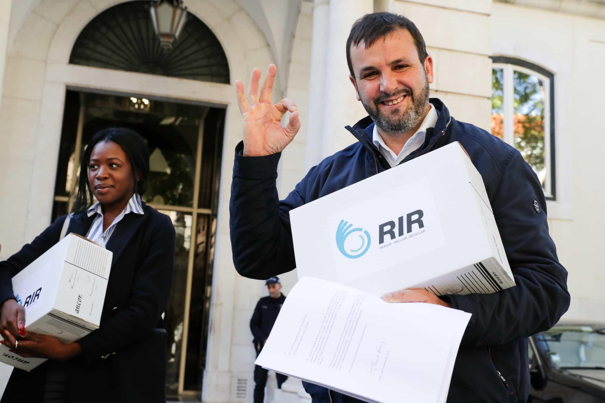 Tino de Rans formaliza RIR com o objetivo de ir a votos