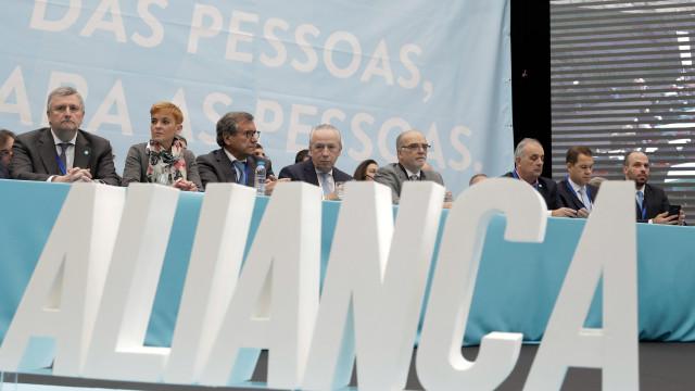 Congressistas aprovam estatutos e regulamento do partido Aliança