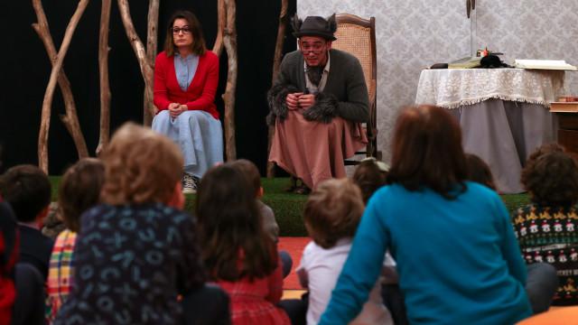 D. Maria estreia 'Mau, mau, lobo mau!' para as crianças lidarem com medo