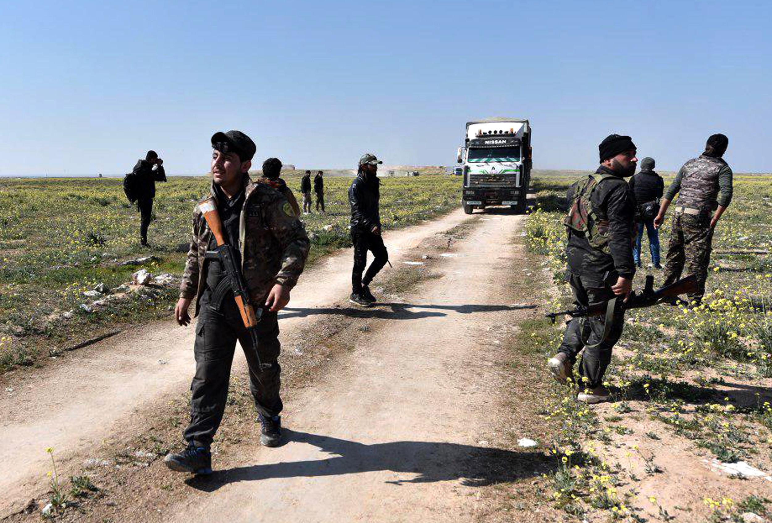 """Forças Democráticas anunciam fim do """"califado"""" do Daesh na Síria"""
