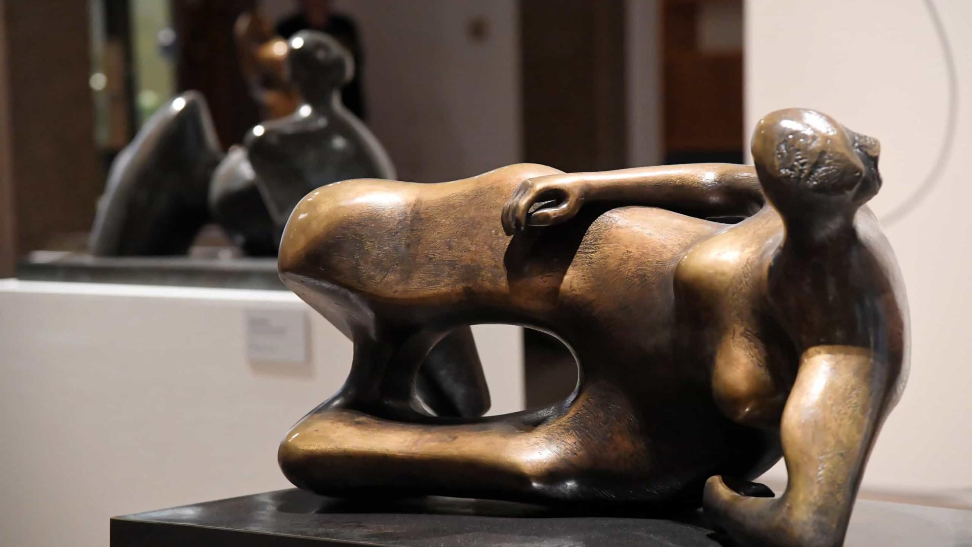 'A Emoção do Espaço' junta escultura de Rodin, Man Ray e Miró em Cascais