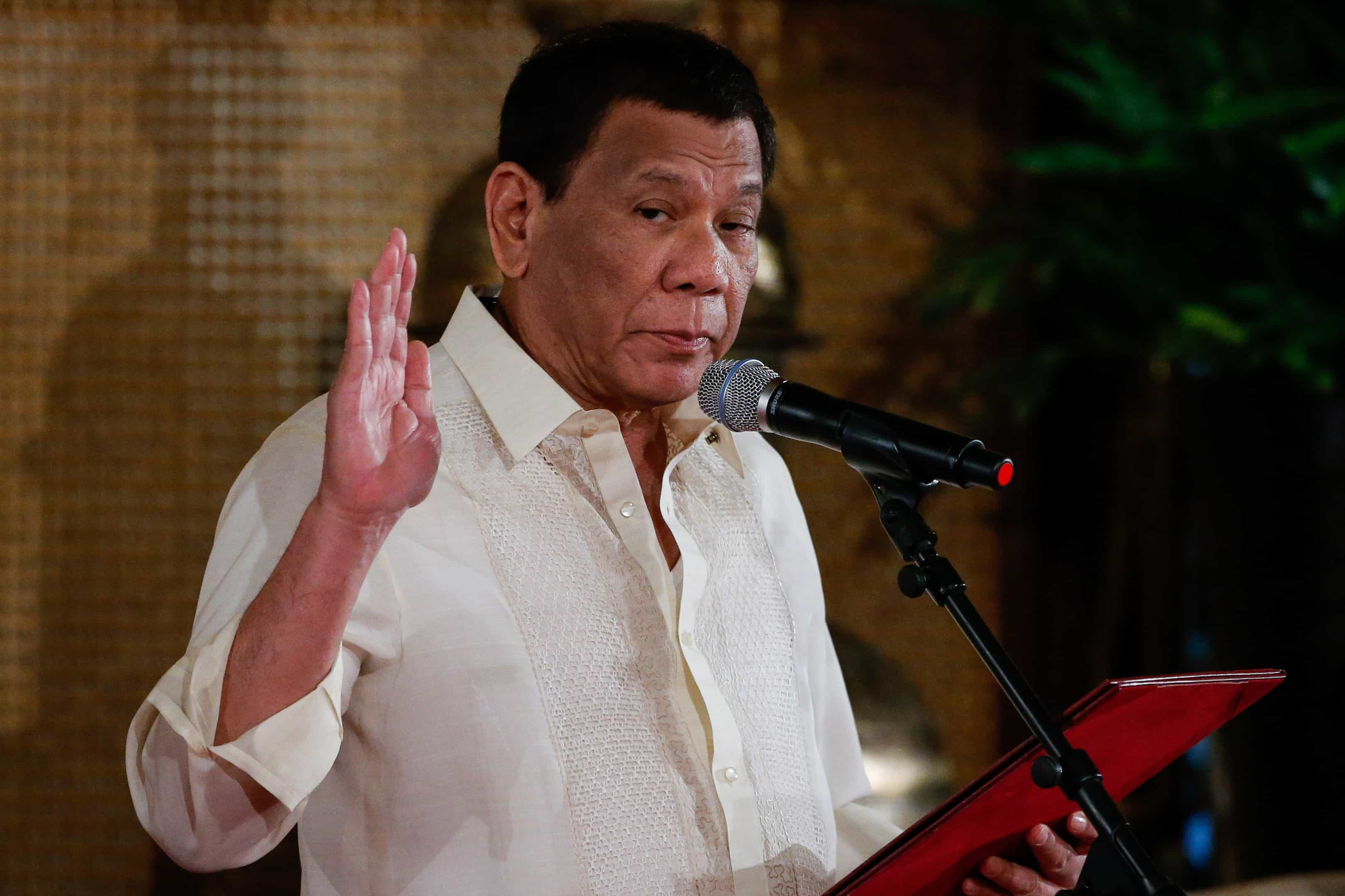 Duterte admite alterar nome das Filipinas devido à conotação colonial