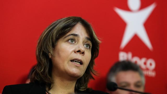 Bloco responsabiliza PSD, CDS e PS pela situação do Novo Banco
