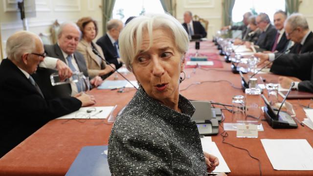 Conselho de Estado com Christine Lagarde começa com quatro ausências