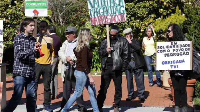 Pedrógão: Manifestantes recebidos com resistência verbal de residentes