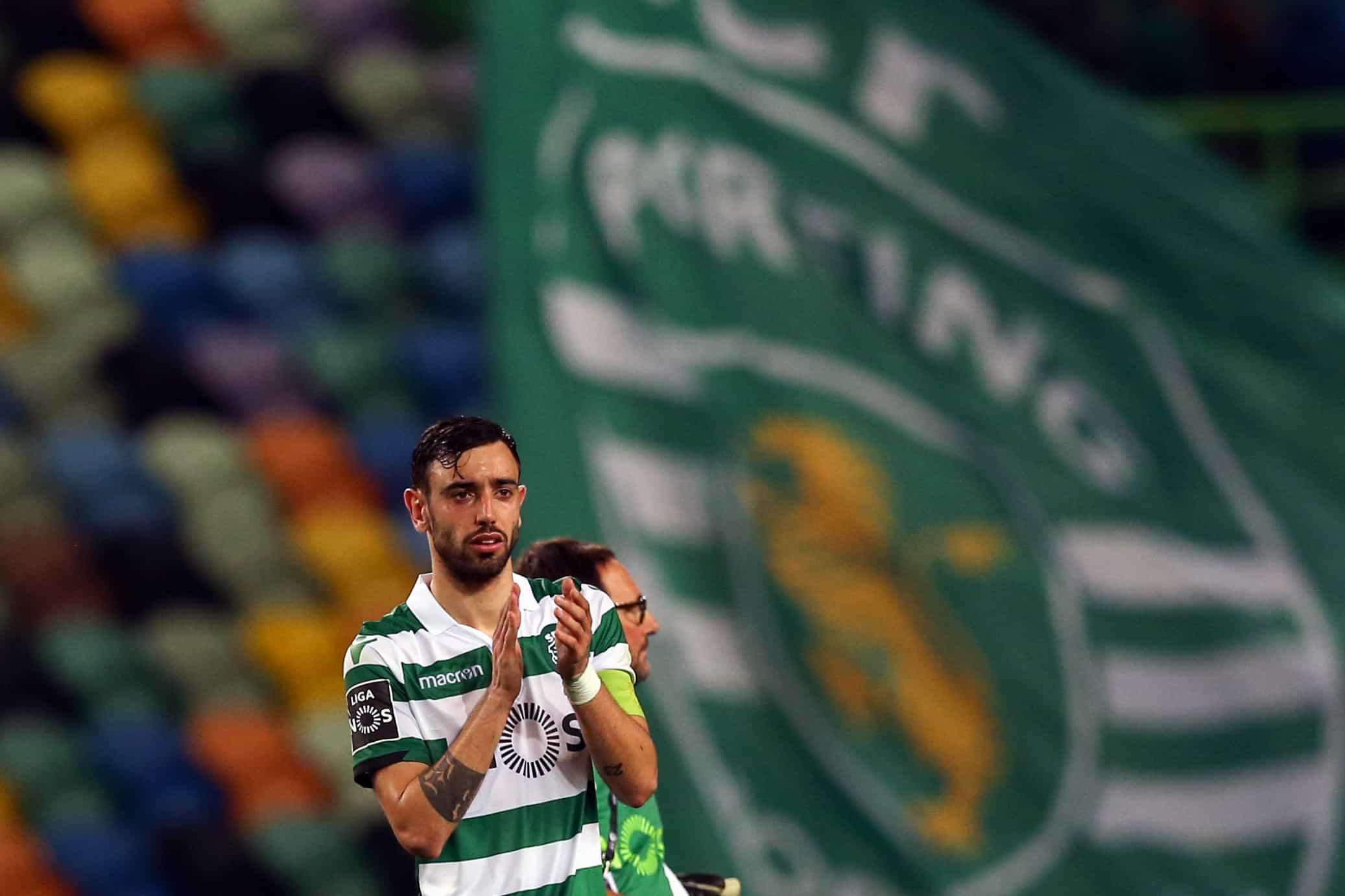 Bruno Fernandes eleito melhor jogador de fevereiro da I Liga