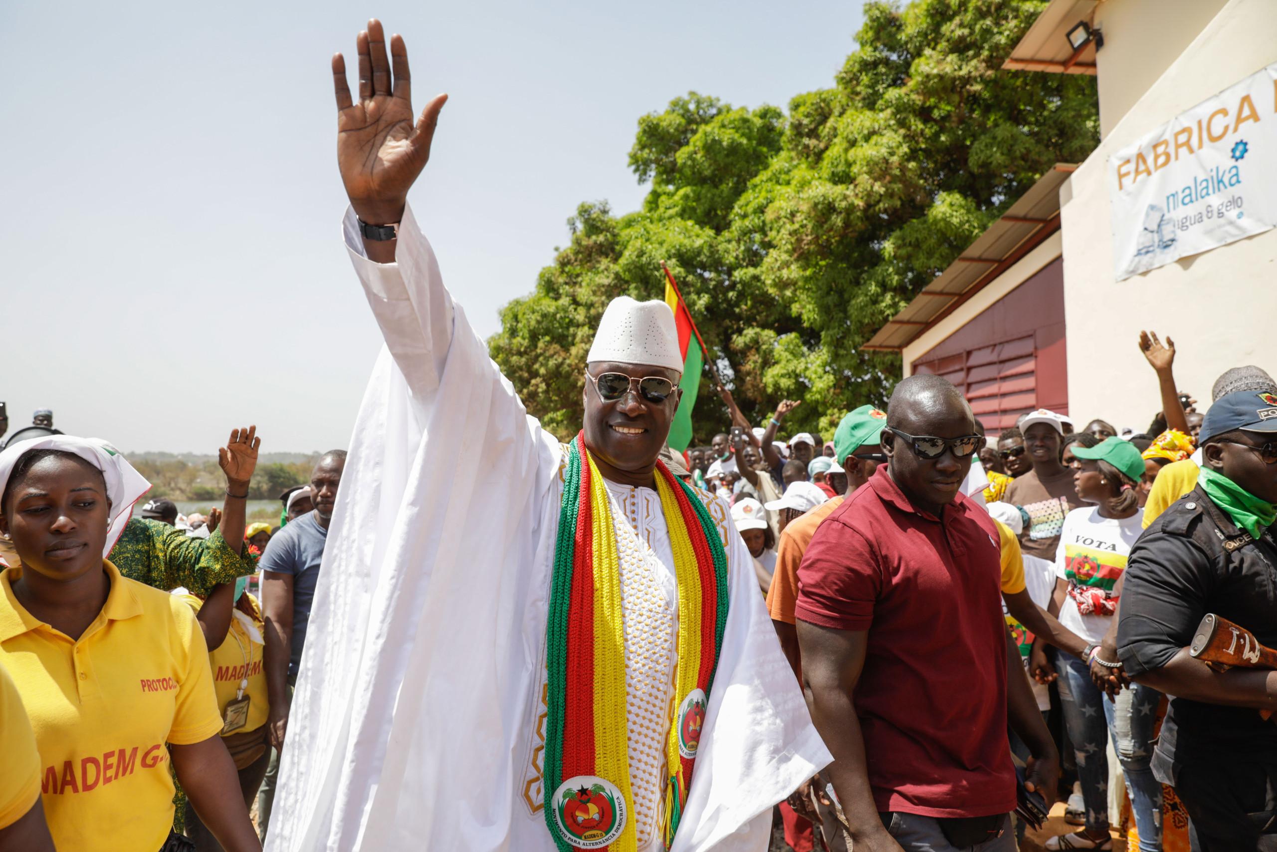 Madem-G15 aceita resultados  na Guiné-Bissau pela estabilidade do país