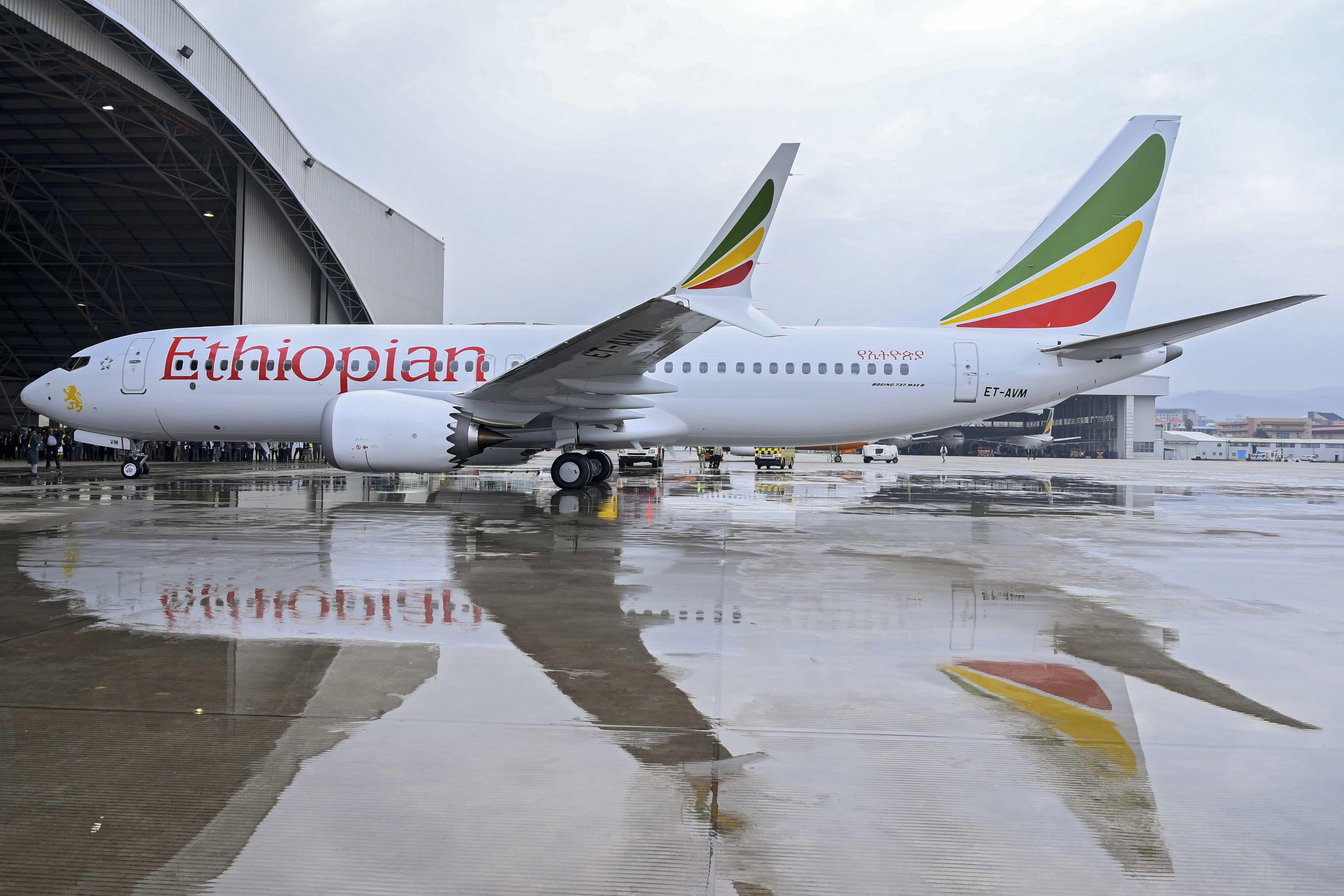 """Governo """"consternado"""" pelos mortos da queda de avião na Etiópia"""