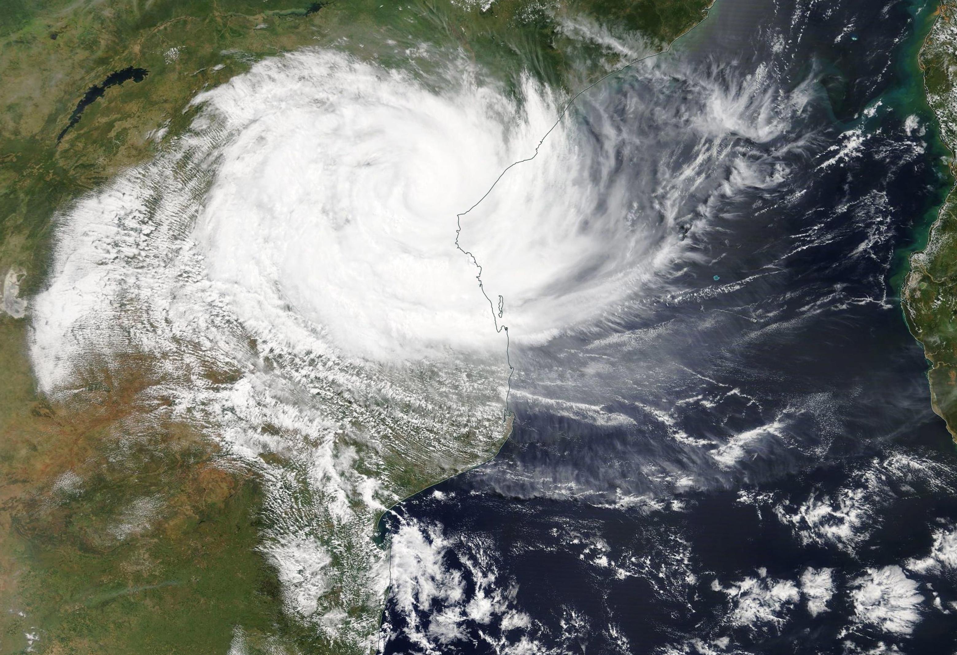 Ciclone Idai provocou pelo menos 19 mortos no centro de Moçambique