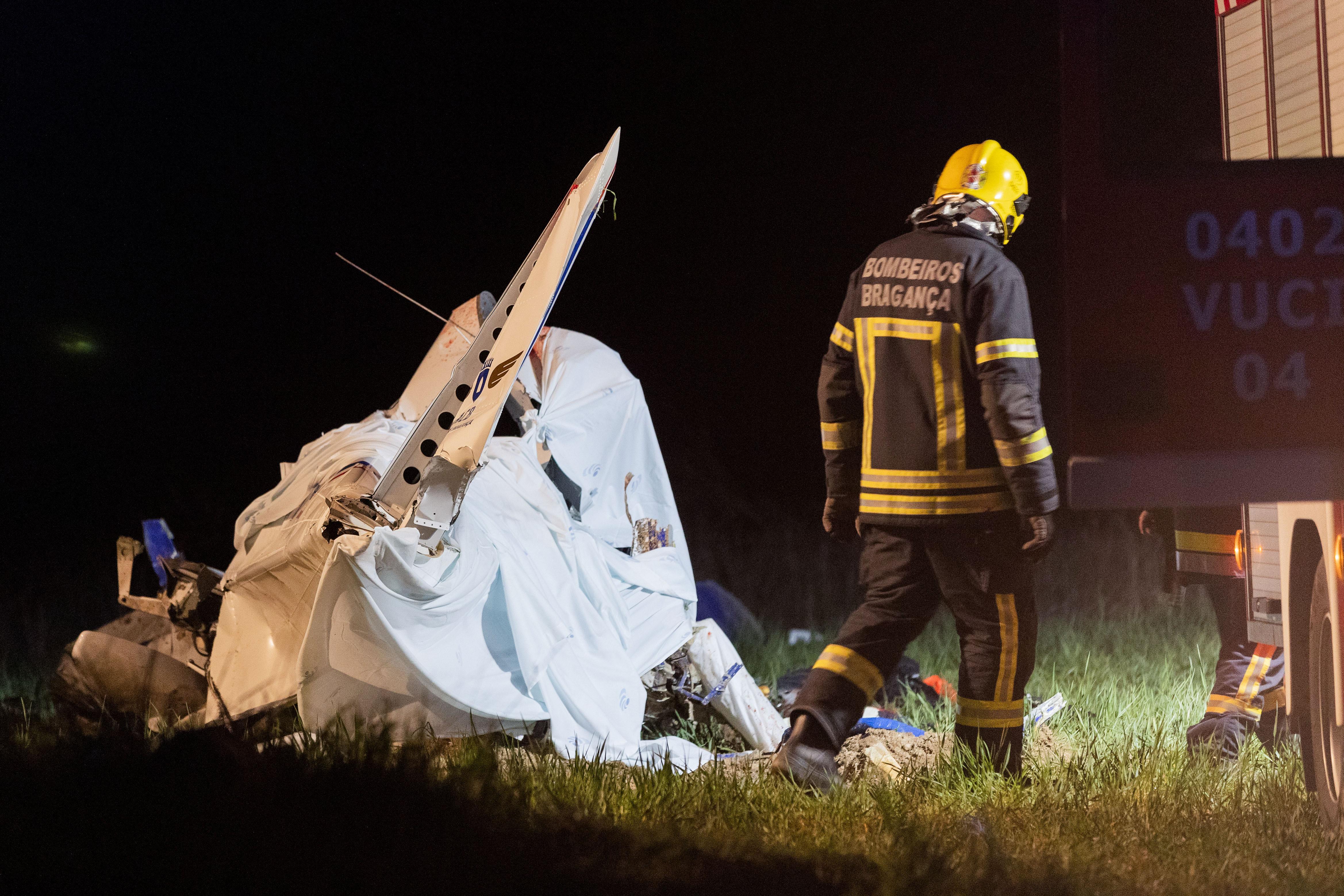 Peritos já estão em Bragança para investigar acidente de aviação mortal