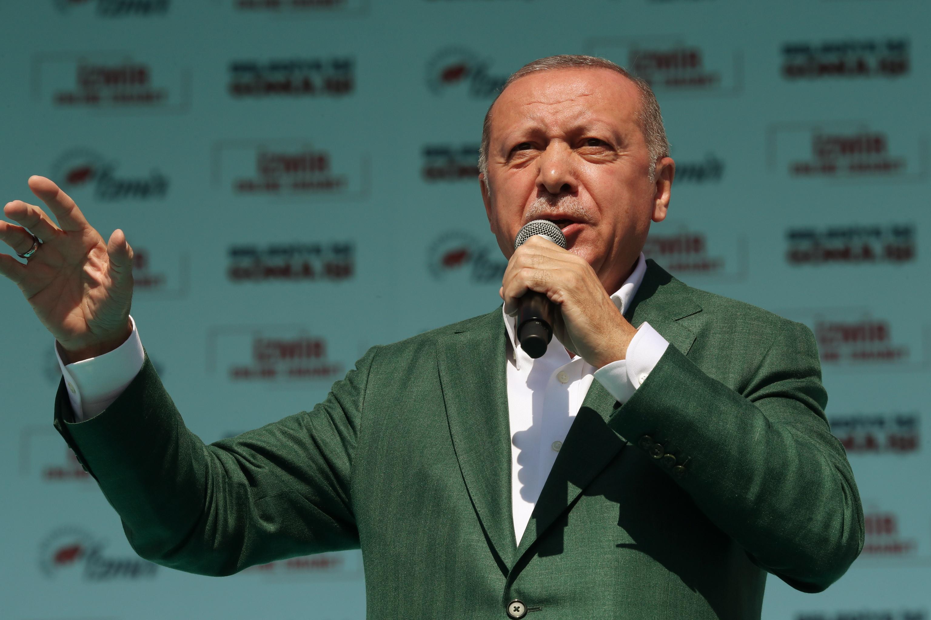 Erdogan utiliza vídeo do massacre na Nova Zelândia em comício eleitoral