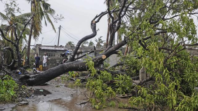 Ventos fortes e chuva intensa atingem Moçambique. Já há estragos