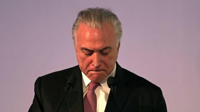 Justiça acusa Temer de ser líder de organização criminosa com 40 anos
