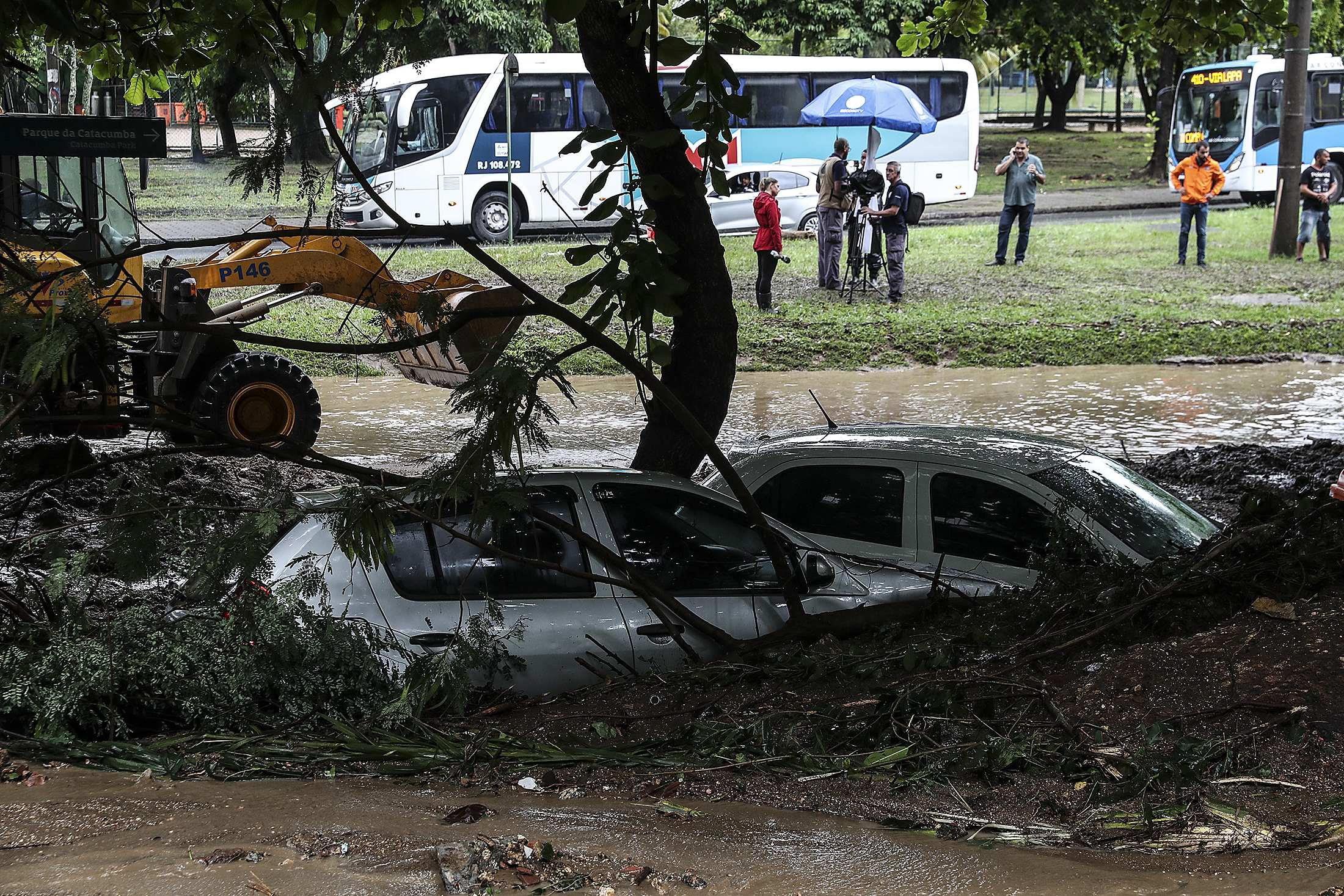 Rio de Janeiro decreta estado de calamidade pública por causa das chuvas