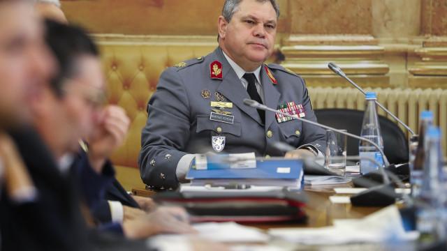 Tancos: Tenente-general não se lembra se enviou memorando a Azeredo Lopes