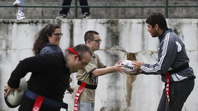 """Todos têm lugar no râguebi em Coimbra, do """"baixinho ao gordo"""""""