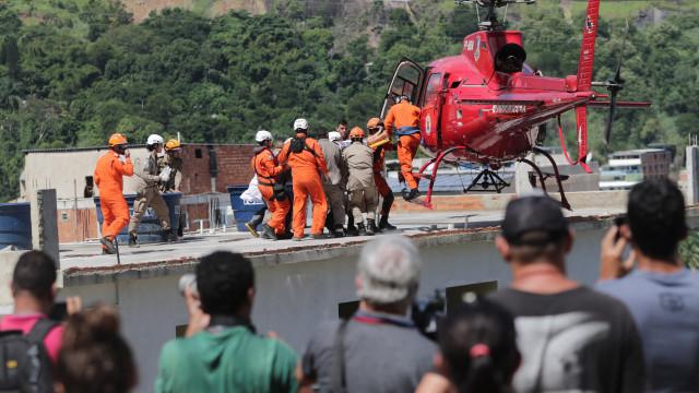 Subiu para sete o número de mortos devido ao desabamento no Brasil