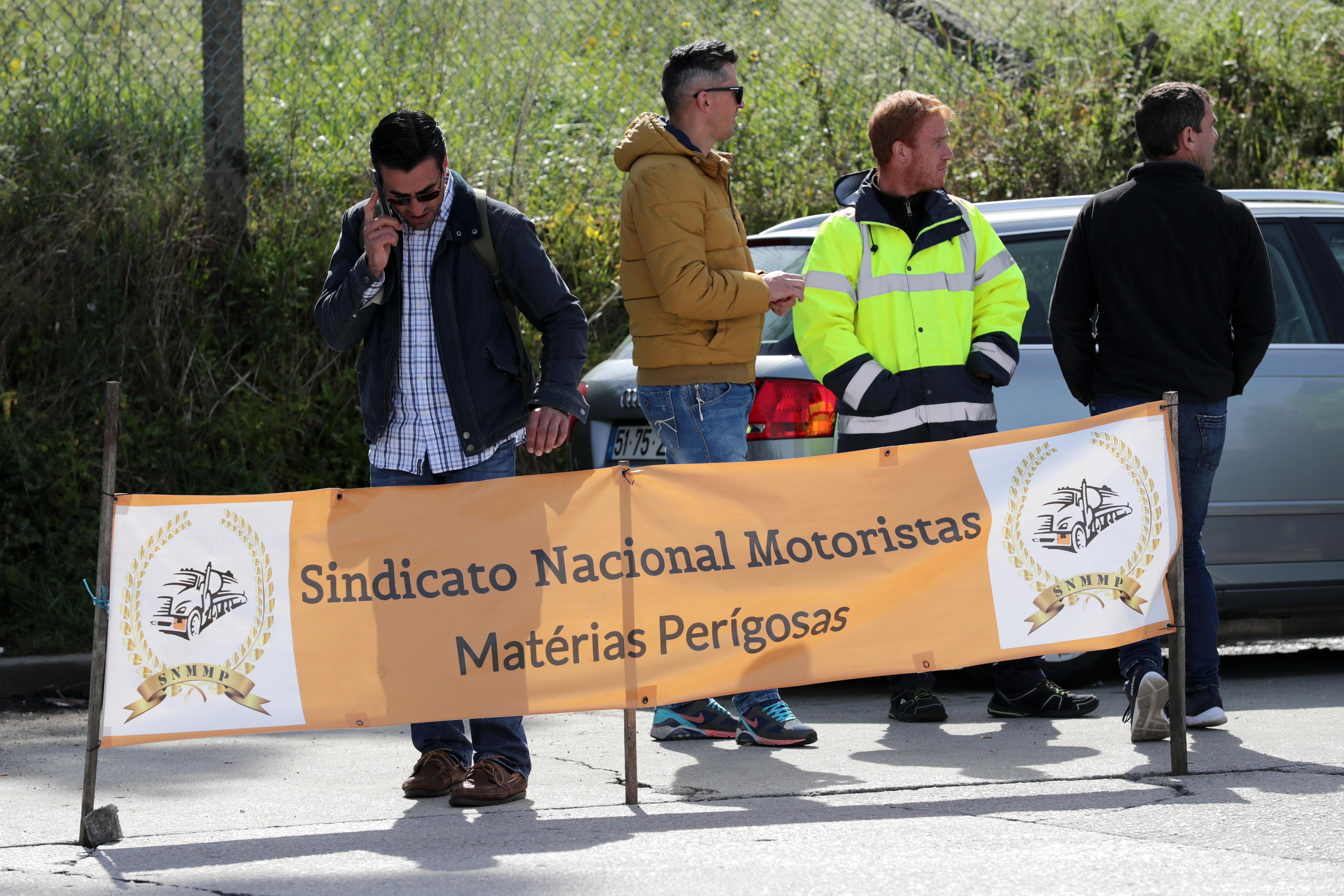 """Grupo Barraqueiro com combustível para """"mais um ou dois dias"""""""