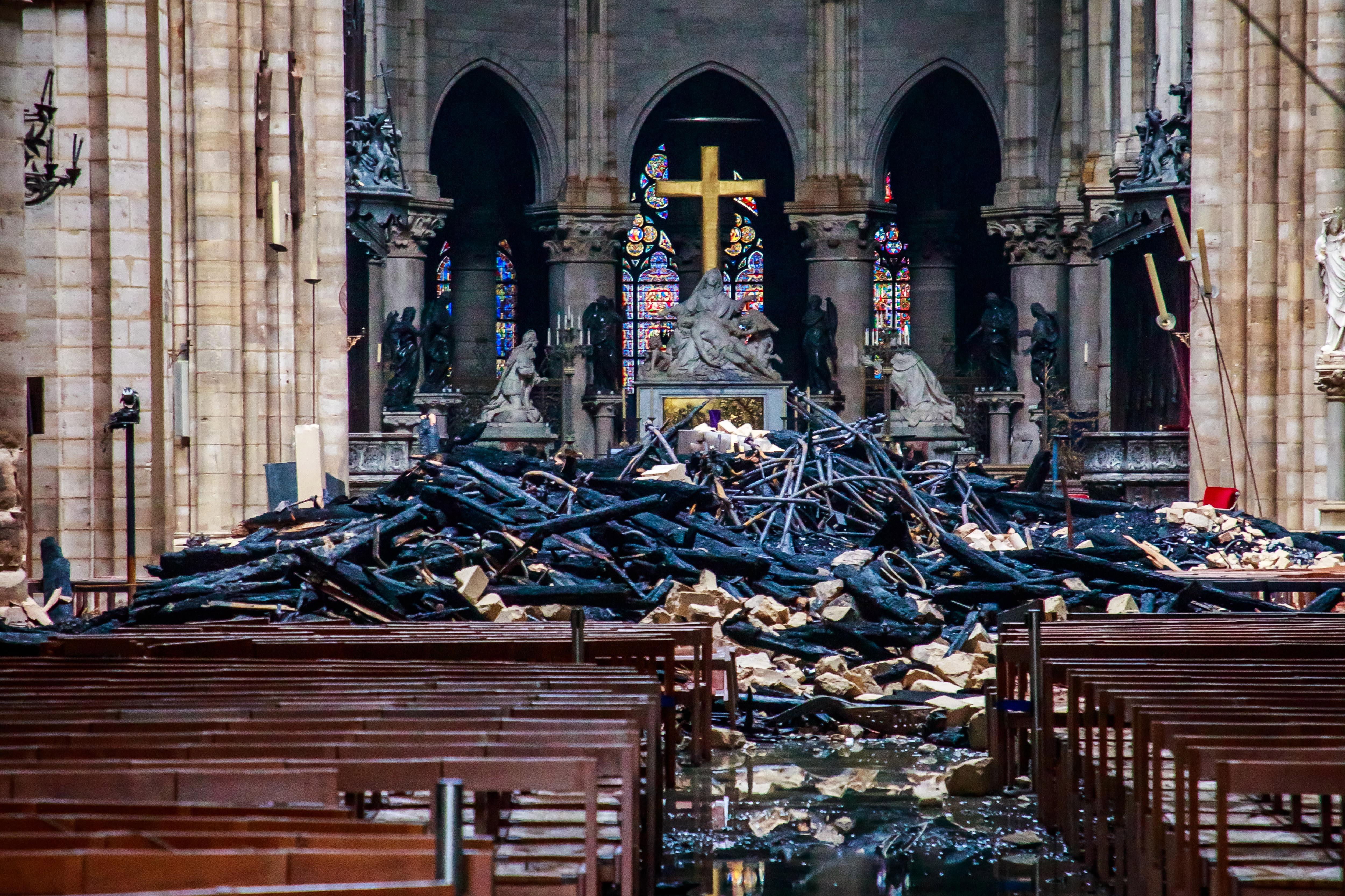 Pode ser oportunidade para acrescentar algo do século XXI a Notre-Dame