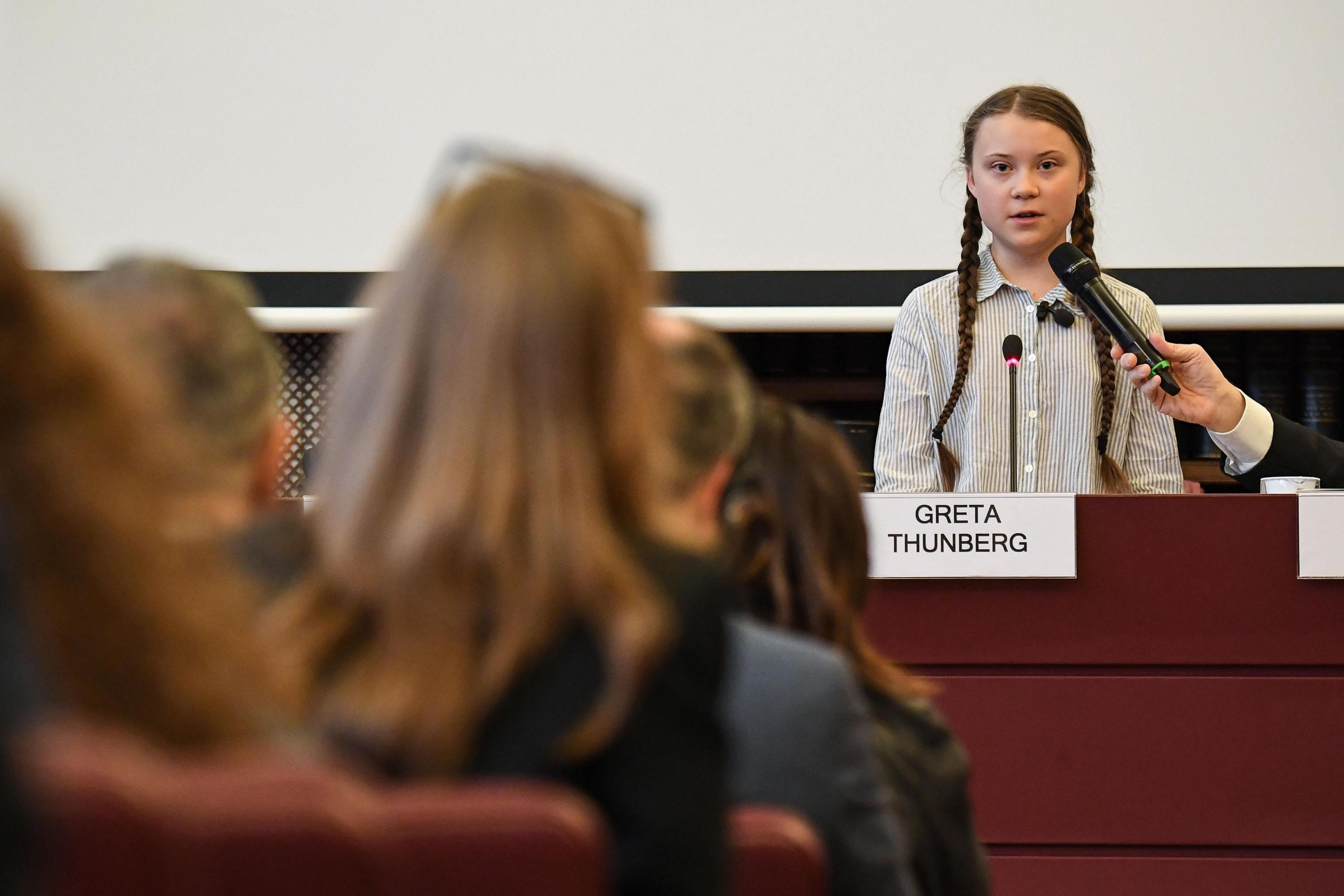 Greta critica políticos por nada fazerem face às alterações climáticas