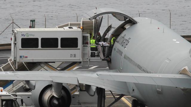 Termina operação de transferência de feridos alemães para aeroporto