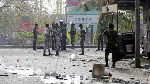 Número de mortos no Sri Lanka subiu para 321. Detidos 40 suspeitos