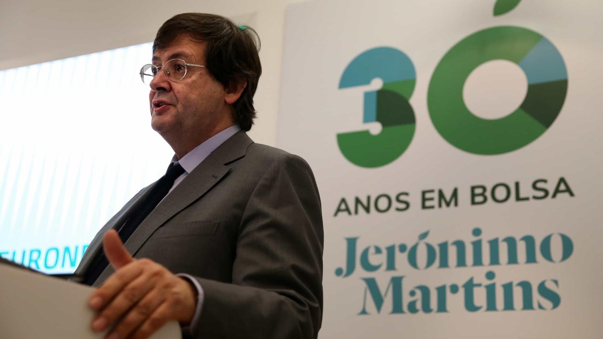 """Jerónimo Martins vai avançar para a Roménia """"a curto prazo"""""""