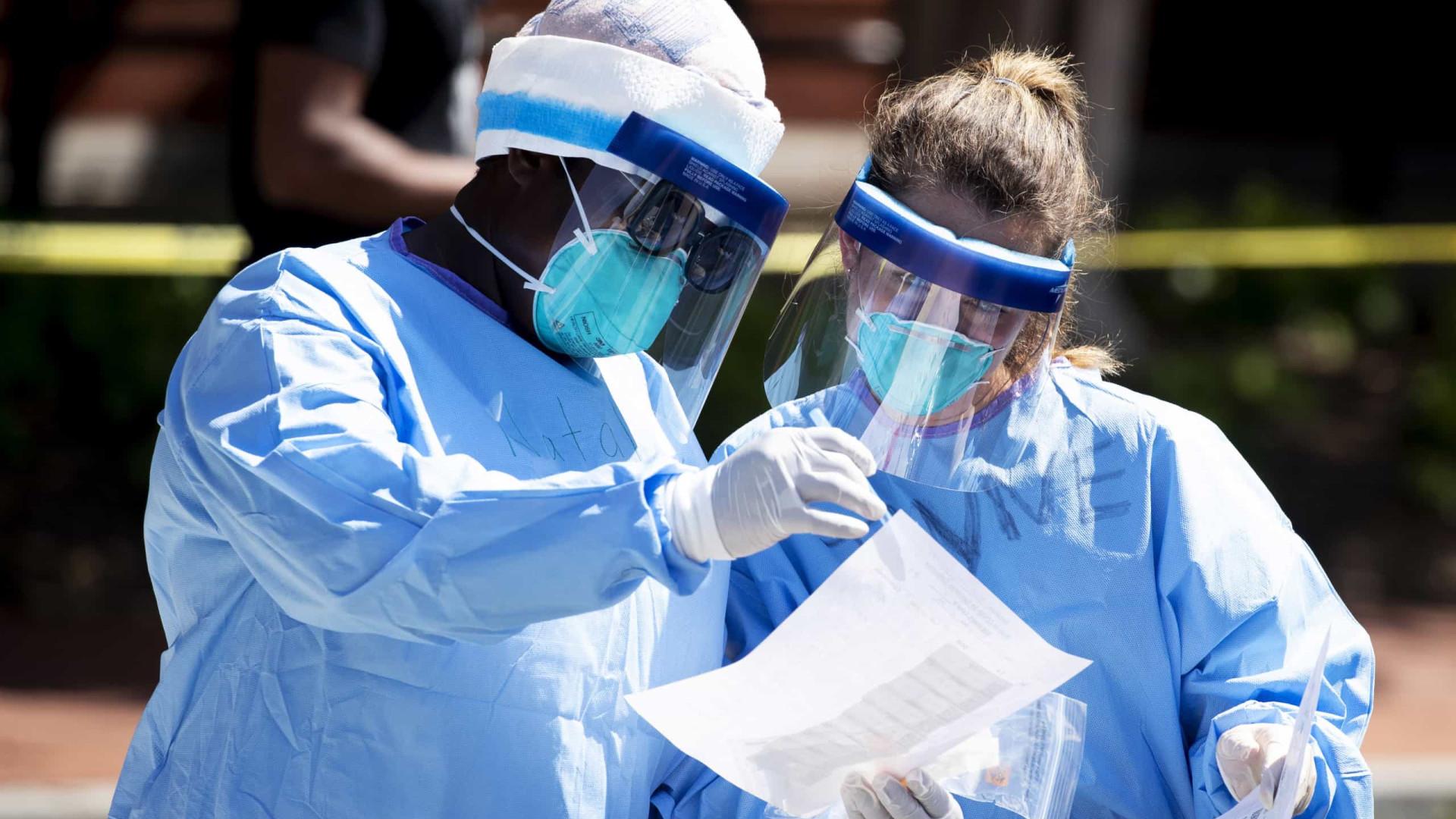 EUA registam quase 1.200 mortos e mais de 42 mil infetados em 24 horas