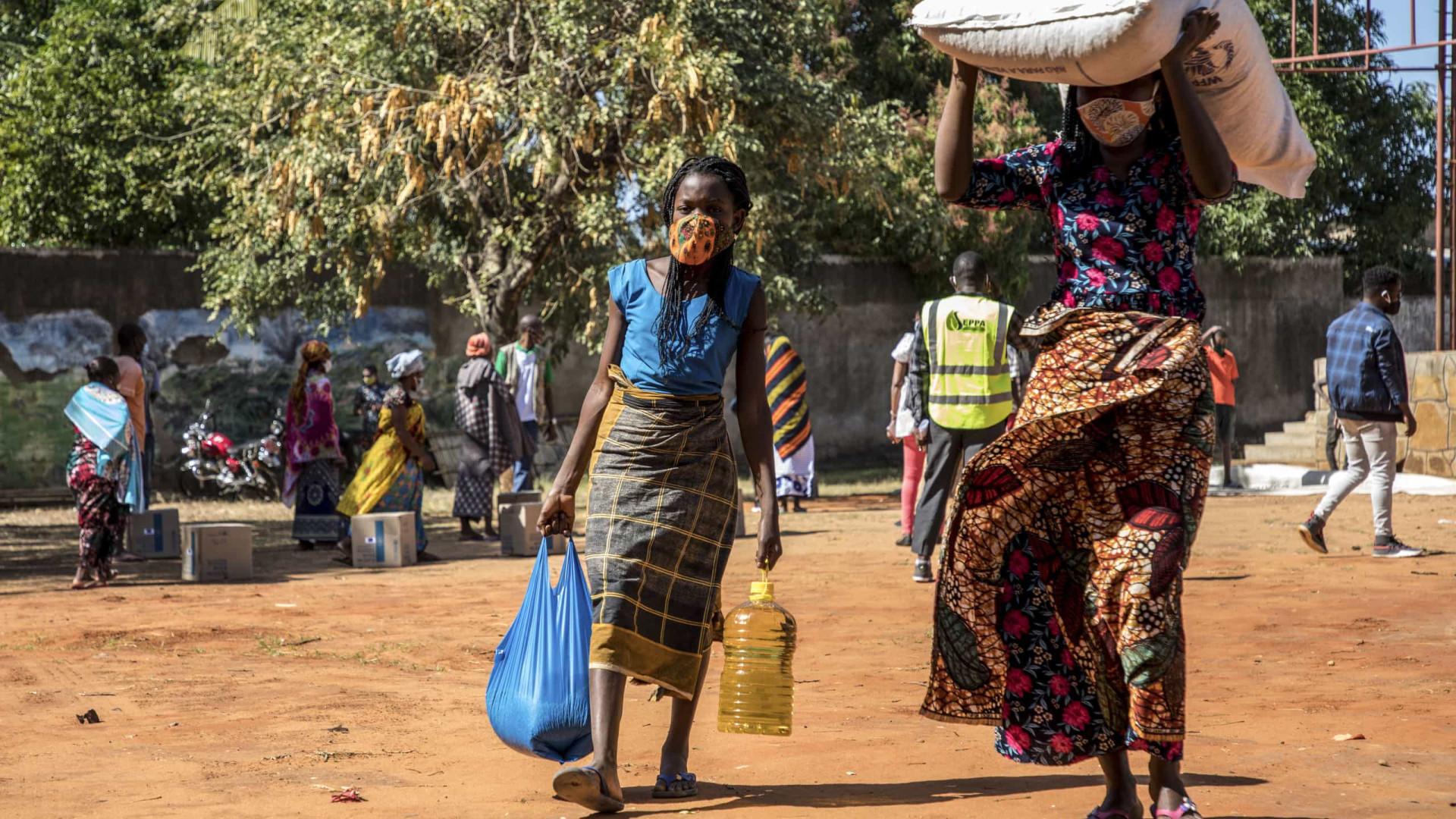 Moçambique. Um terço do orçamento do ACNUR está por financiar