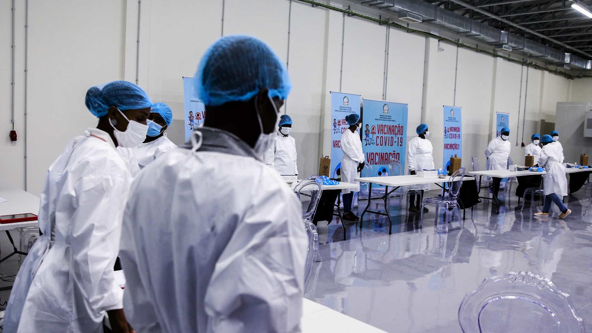 Angola com cinco mortes, 173 casos e 228 recuperações em 24 horas