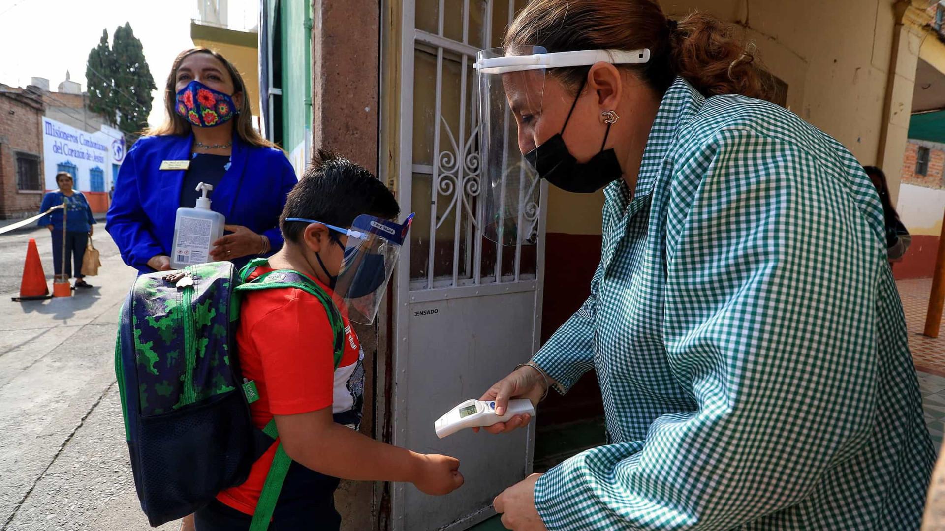 México com mais 267 mortos e 3.090 novos casos de Covid-19