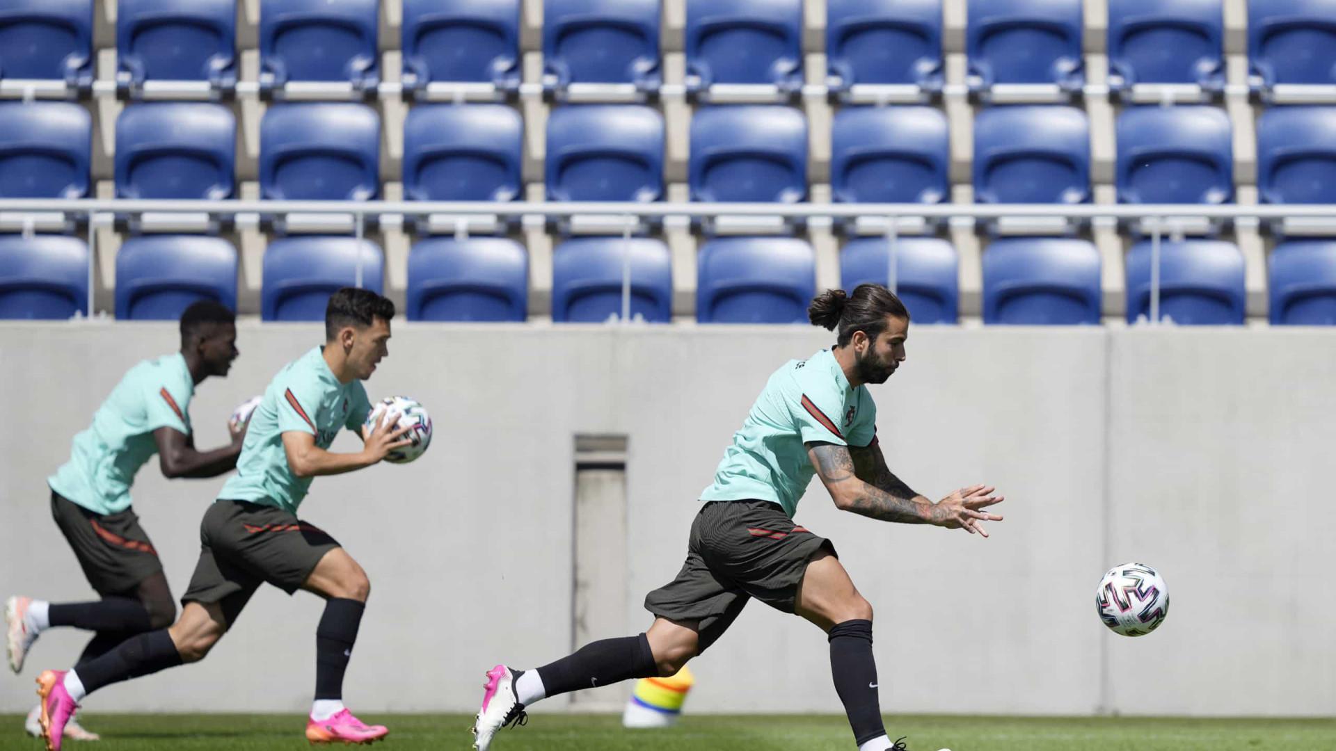 Portugal treinou já sem Cancelo, mas com Anthony Lopes integrado