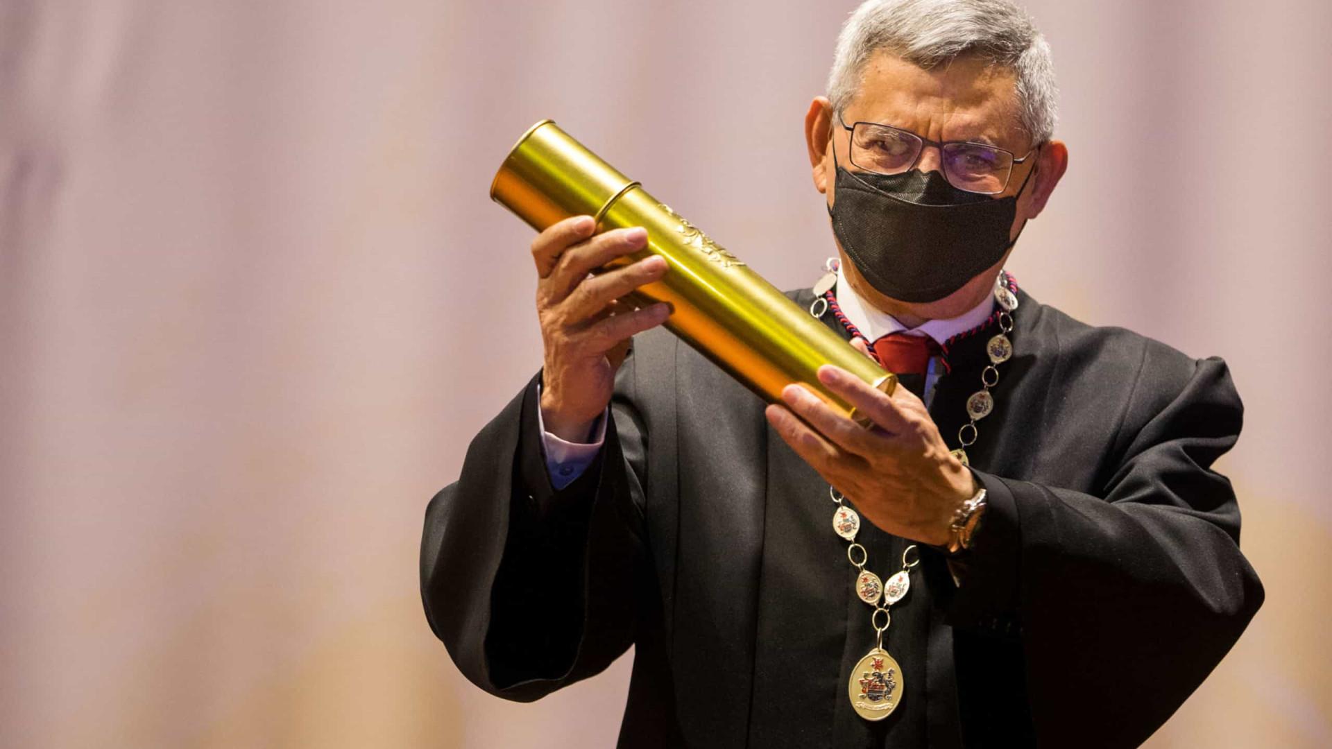 Universidade Portucalense atribuiu título ao presidente de Cabo Verde