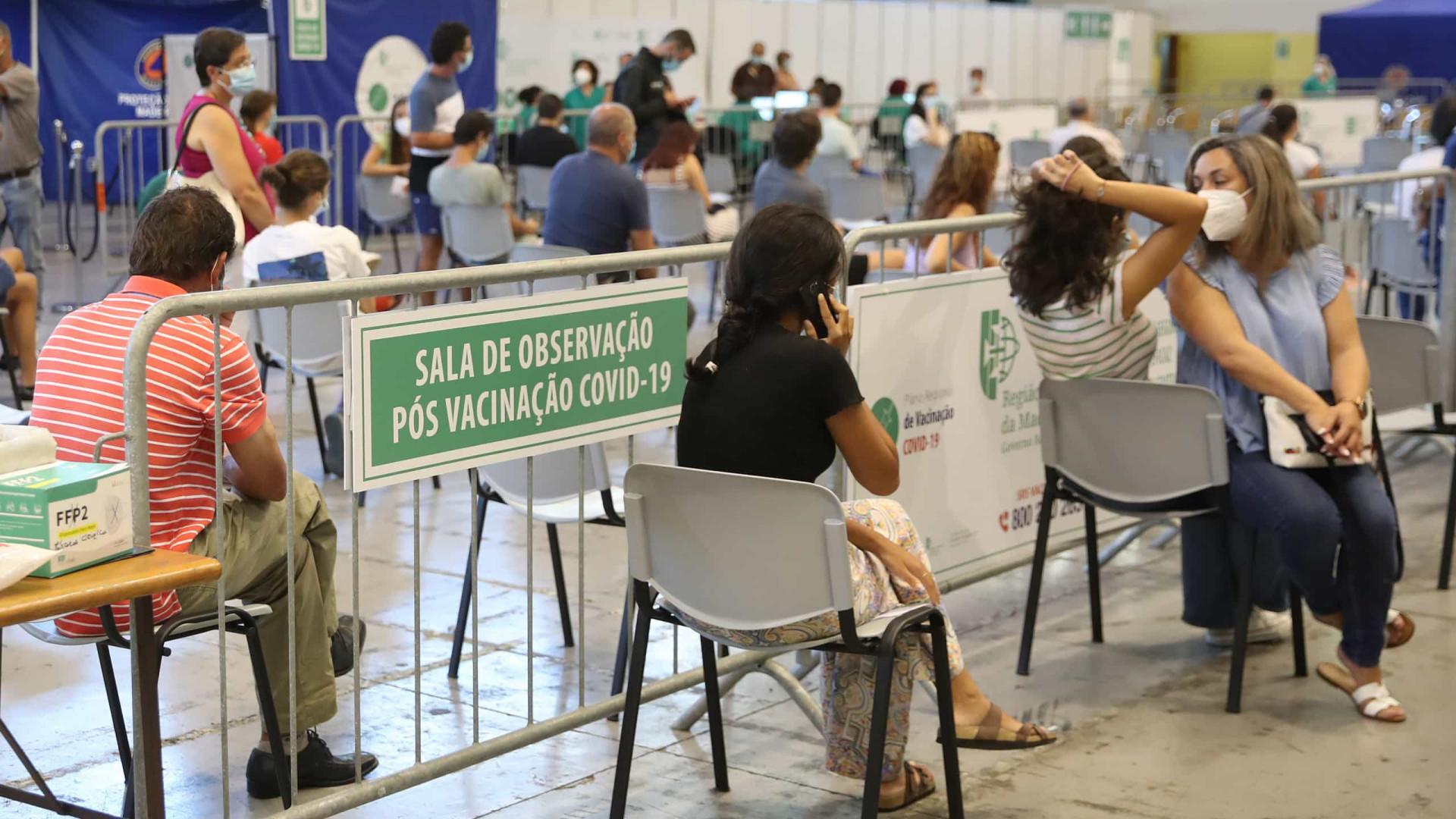 Centros de vacinação da Madeira com horário alargado até sábado