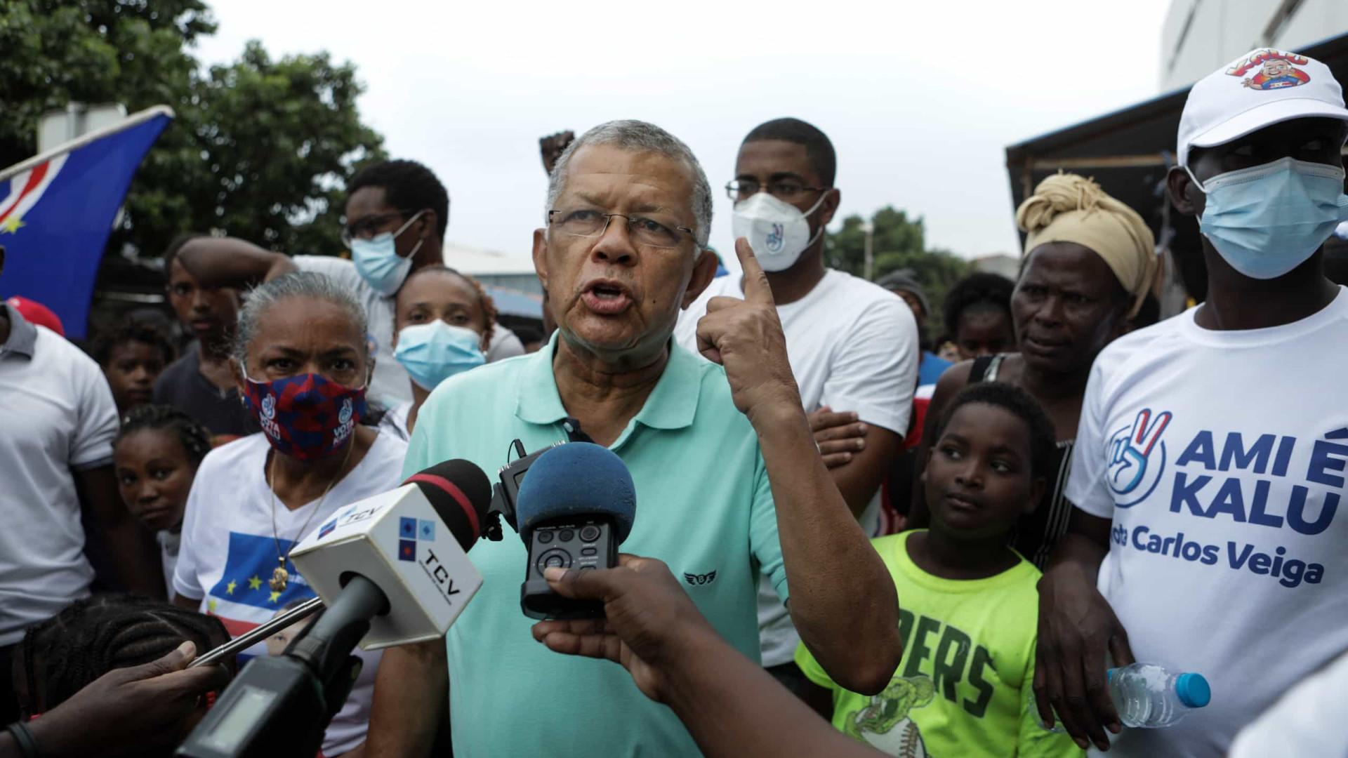 Cabo Verde: Carlos Veiga termina campanha convicto na vitória no domingo