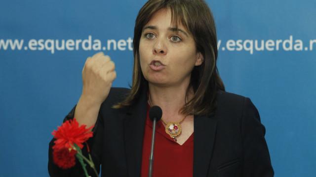 """Catarina Martins destaca """"bom sinal"""" dos números do voto antecipado"""