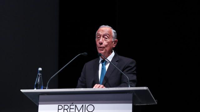 """Marcelo critica """"cegueira"""" face às alterações climáticas"""