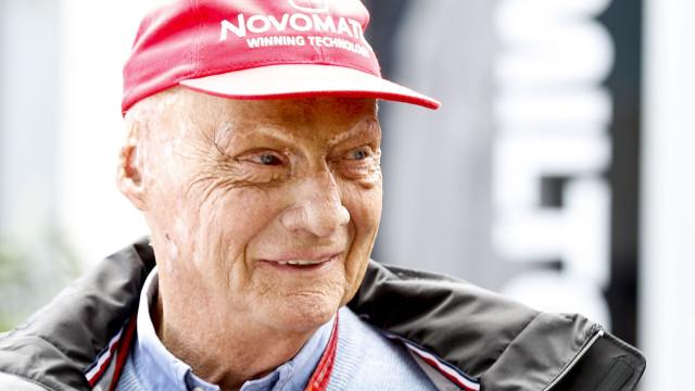 Morreu Niki Lauda, três vezes campeão em Fórmula 1
