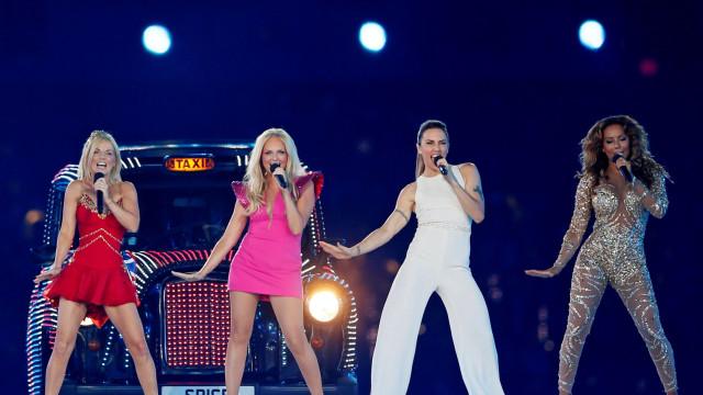 Divulgadas primeiras imagens do palco das Spice Girls