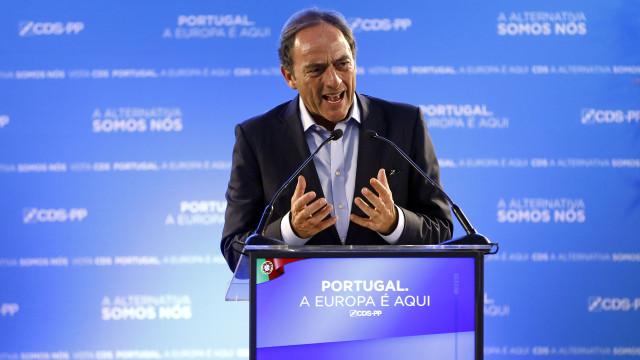 Portas foi apoiar Melo e pedir voto dos eleitores do PSD no CDS