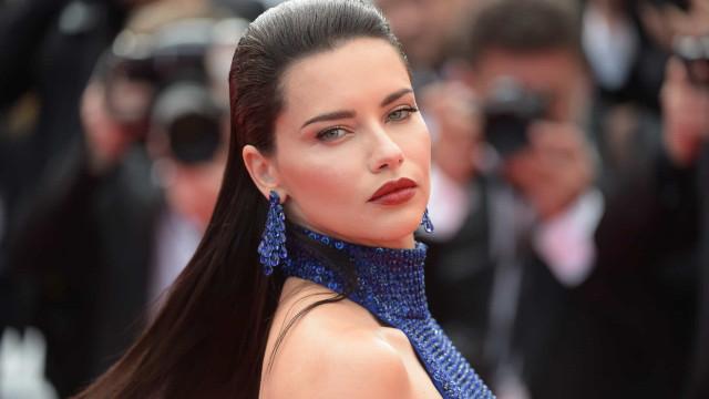 Cannes: O look de Adriana Lima que a deixou deslumbrante