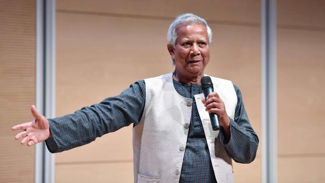 """Nobel Muhammad Yunus defende """"banco para os pobres"""" em Cabo Verde"""