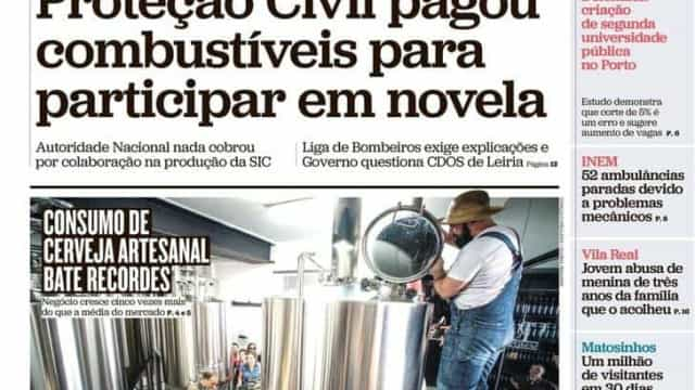 Hoje é notícia: Proteção Civil e borla a novela; Berardo não quis ofender